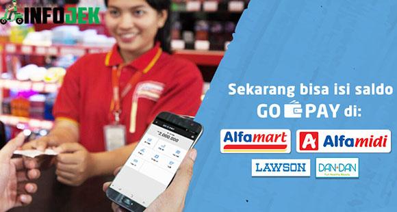 Cara Top Up Gopay Lewat Alfamart