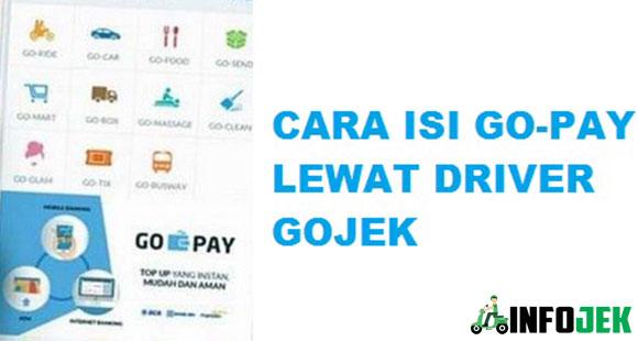Cara Top Up Gopay Lewat Driver