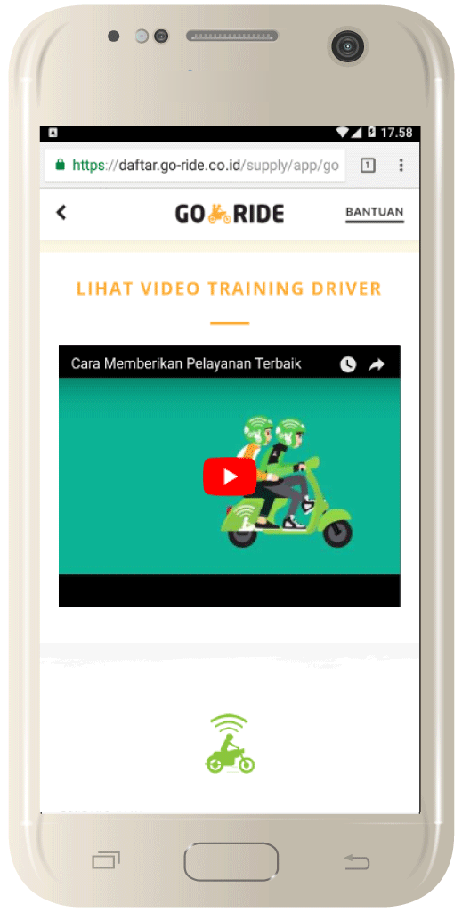 video pelatihan