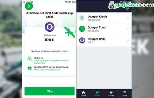 Dompet OVO Siap Digunakan