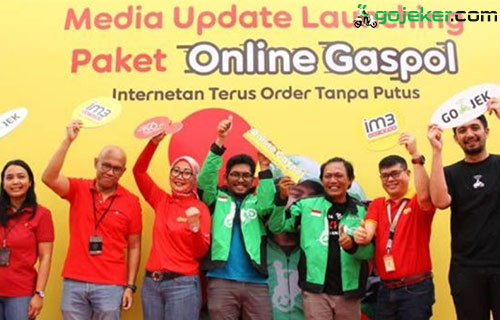 """Paket Data Internet Gojek Telkomsel"