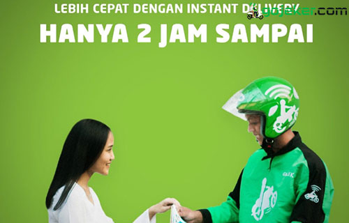 Layanan Gosend Instant Delivery