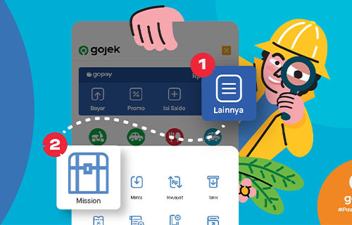 Cara Menyelesaikan Group Mission Gojek