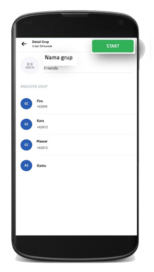 Berikan Nama Grup Chat