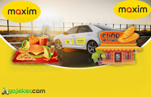 Cara Order Maxim Food Shop