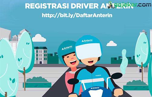 Syarat Daftar Anterin Driver