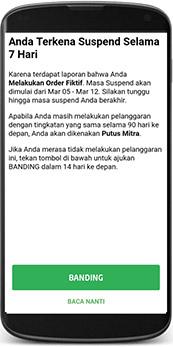 Banding Akun Gojek