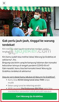 Cari Warung Ijo GrabKios