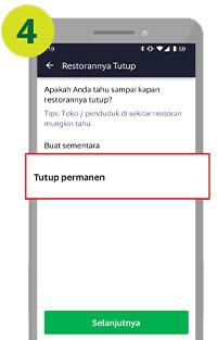 laporan Restoran tutup
