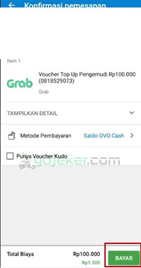 top up dompet kredit