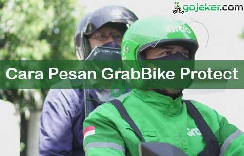 Cara Pesan GrabBike Protect