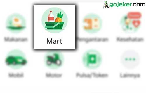 Cara Pesan GrabMart Online
