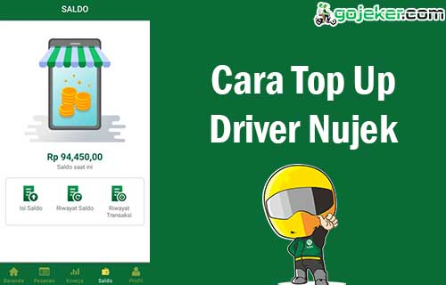 Cara Top Up Driver Nujek