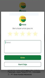 rating nujek food
