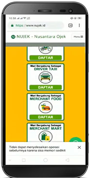DAFTAR MERCHANT FOOD
