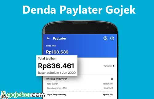 Denda Paylater Gojek