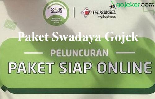 Paket Swadaya Gojek