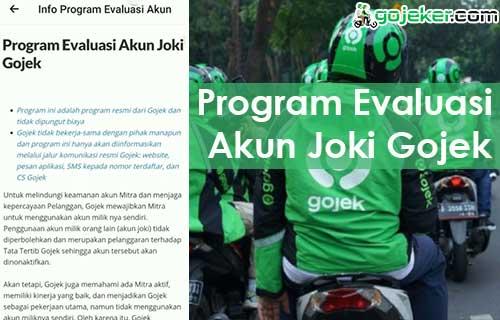 Program Evaluasi Akun Joki Gojek