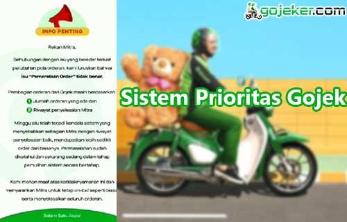 Sistem Prioritas Gojek