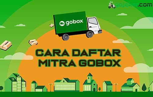 Cara Daftar Mitra GoBox