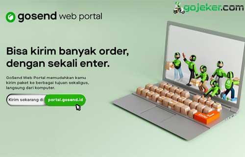 Cara Menggunakan GoSend Web Portal