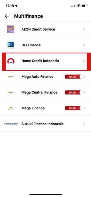 Pilih Home Credit Indonesia 1