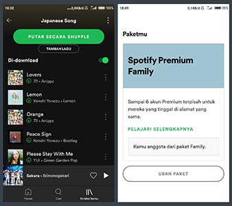 Cara Bayar GoPay via Aplikasi Spotify