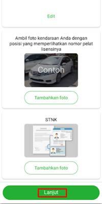 Foto Mobil dan STNK