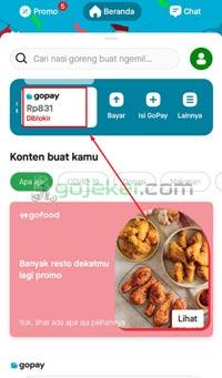 Klik Gopay