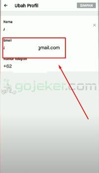 Pilih Menu Email