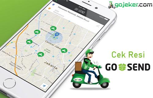 Cek Resi Go Send Lewat Aplikasi Link Pesanan Call Center
