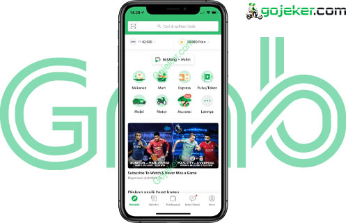 Buka Aplikasi Grab