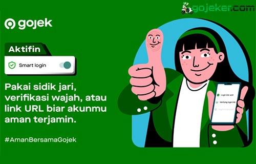Cara Aktifkan Smart login Gojek Login Link Biometric