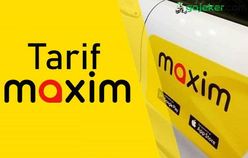 Tarif Maxim Cleaning