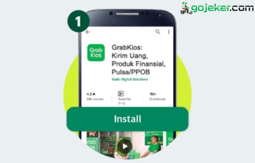 1 Download Aplikasi Grabkios