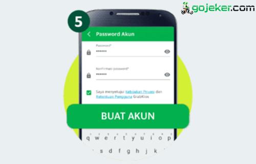 5 Buat Password Akun