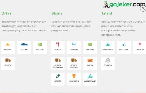 Cara Daftar Gojek Secara Online