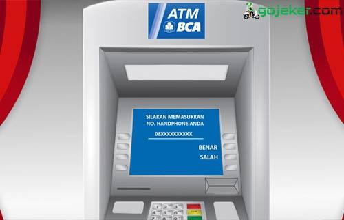 Cara Top Up Grab Driver Via ATM BCA
