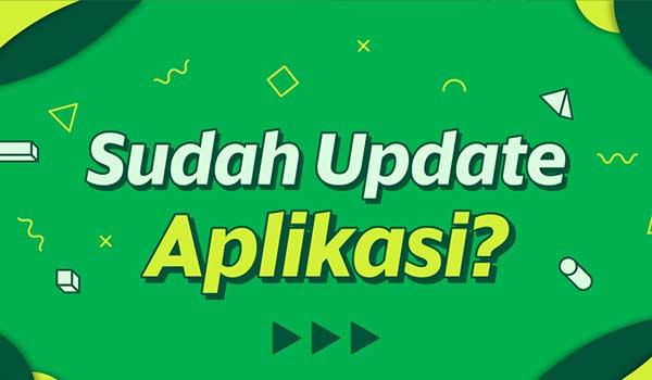 Update Aplikasi Versi Terbaru
