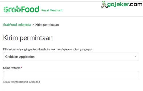 1 Buka Formulir Pendaftaran GrabMart