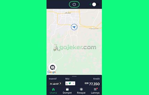 1 Buka Aplikasi Grab Driver