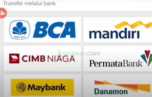 3 Pilih Bank Transfer