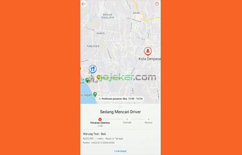 7 Sistem Mencari Driver