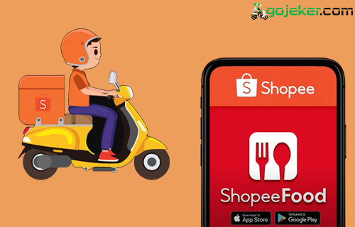 Cara Melihat Rating Driver Shopee Food