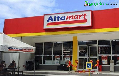 Cara Top Up Saldo Shopee Food Driver Alfamart