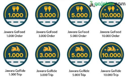 Fungsi Emblem Penghargaan Driver Gojek
