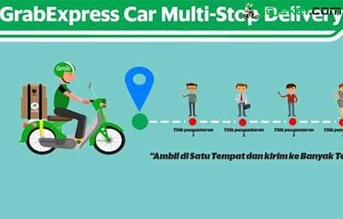 Cara Terima Orderan GrabExpress Bike Multi Stop