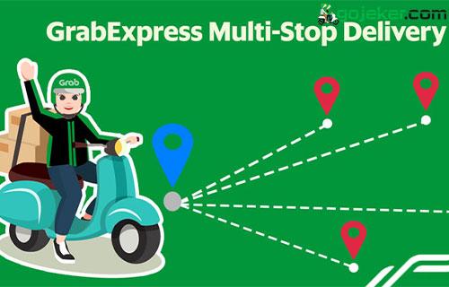 GrabExpress Bike Multi Stop