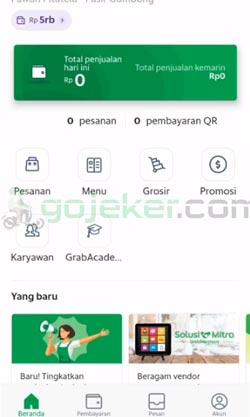 1 Buka Aplikasi GrabMerchant 1