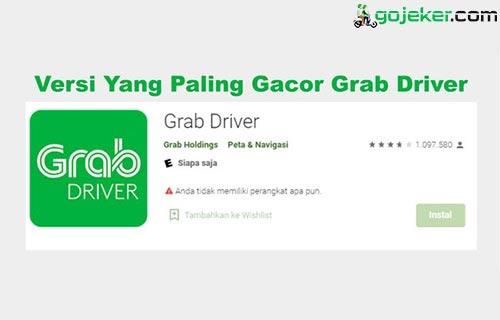 Apa Itu Versi Grab Driver
